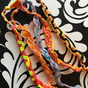 Jewelry - Handmade Single Wave Bracelets in Various Colors